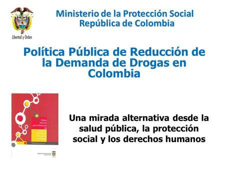 Ministerio de la protecci n social rep blica de colombia for Ministerio de consumo