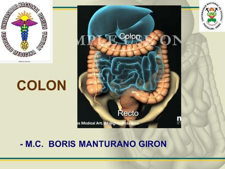 COLON - M.C. BORIS MANTURANO GIRON.