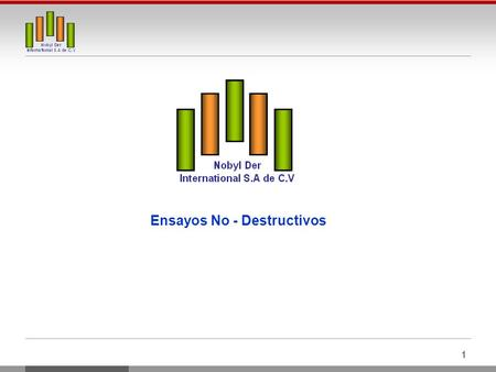 Ensayos No - Destructivos