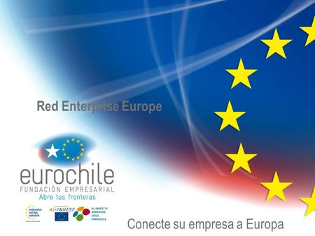 Conecte su empresa a Europa Red Enterprise Europe.