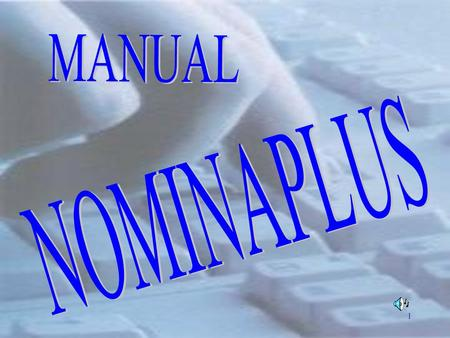 MANUAL NOMINAPLUS.