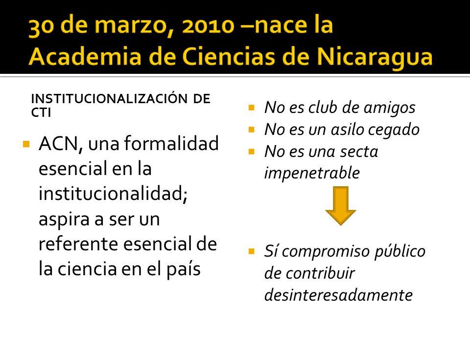 Consolidación organizativa: Vinculación con organizaciones afines a nivel nacional e internacional (formación de capacidades de la Academia)