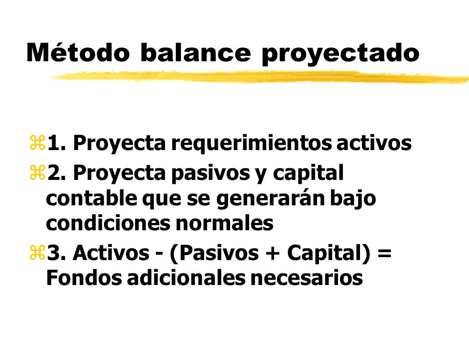 zPaso 1: Pronóstico Estado Resultados yPronostique ventas yPronostique E.R.