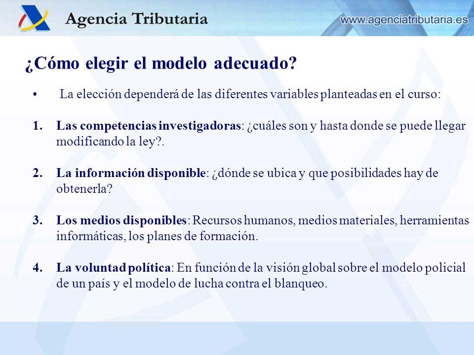 EL MODELO DE LA AEAT EN ESPAÑA: PREVENCIÓN: 1)Intercambio de información de interés mutuo entre SEPBLAC-AEAT.