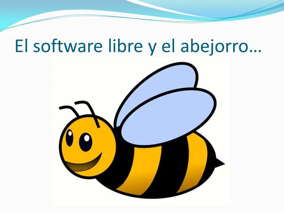 El software libre y el abejorro…