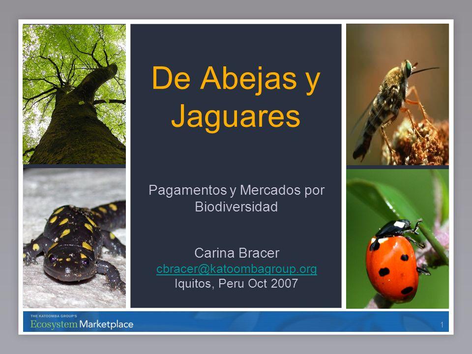 Pagamentos y Mercados por Biodiversidad