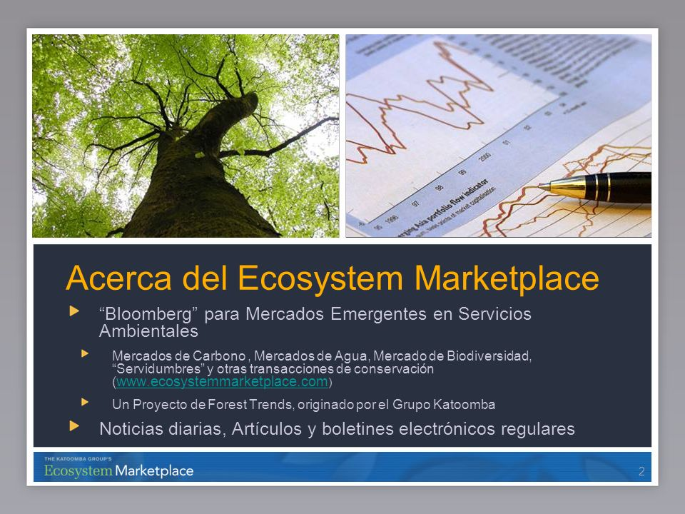 Acerca del Ecosystem Marketplace
