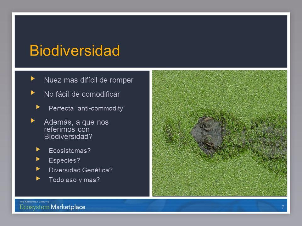 Biodiversidad Nuez mas difícil de romper No fácil de comodificar