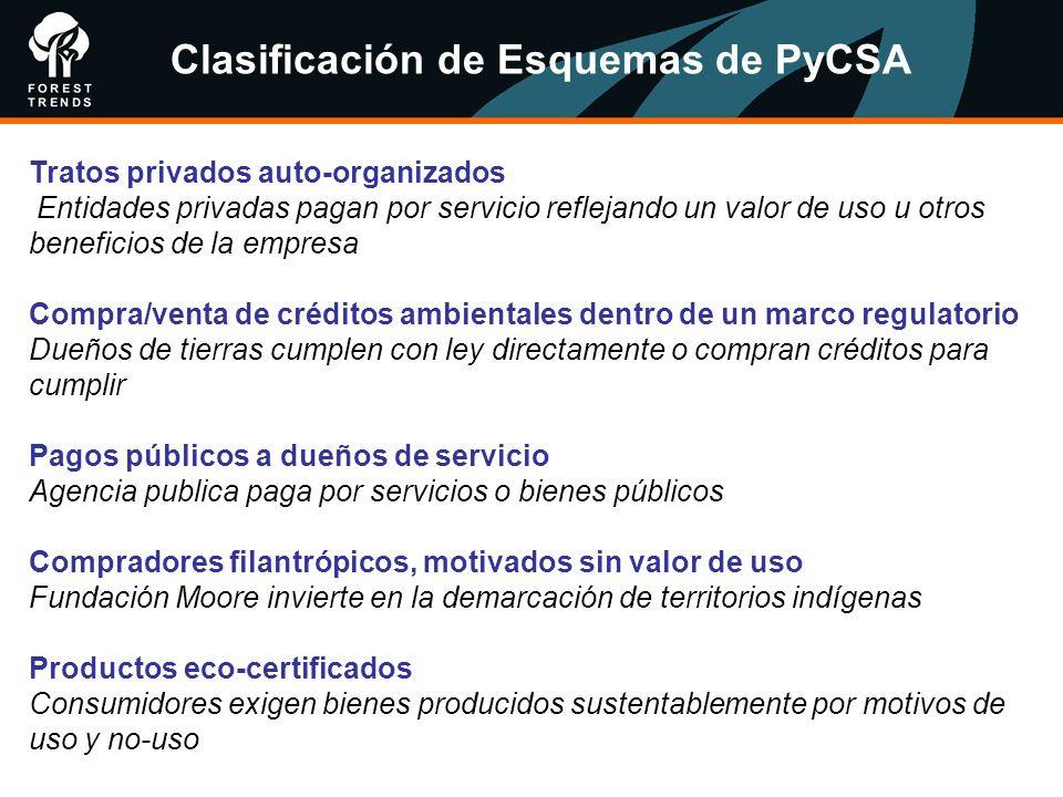 Clasificación de Esquemas de PyCSA
