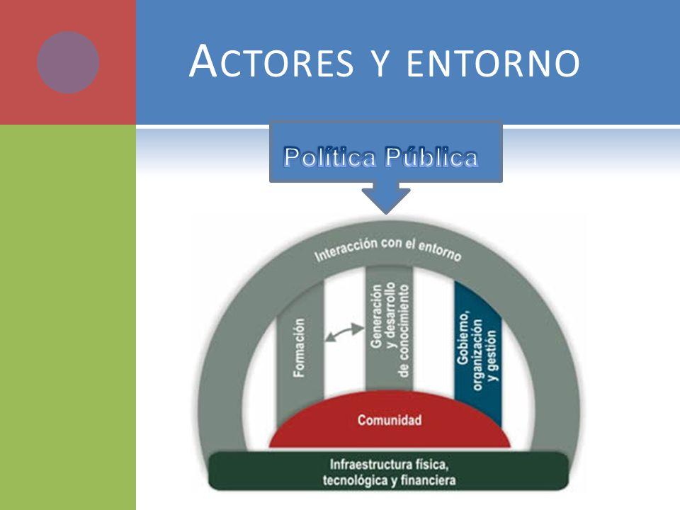Actores y entorno Política Pública