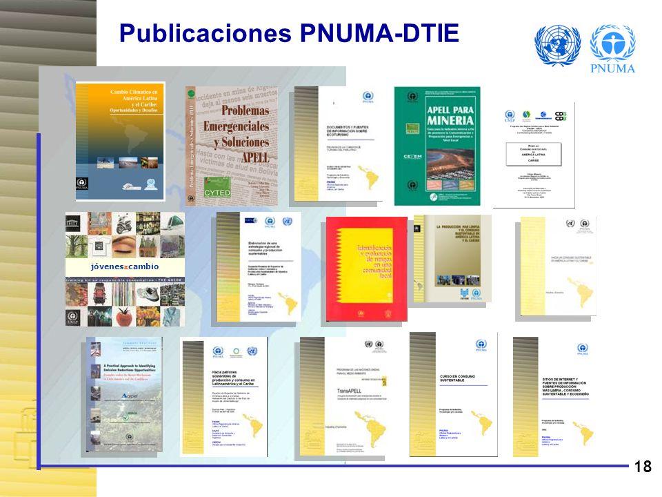 Publicaciones PNUMA-DTIE