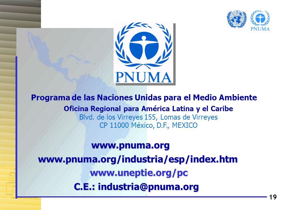 C.E.: industria@pnuma.org