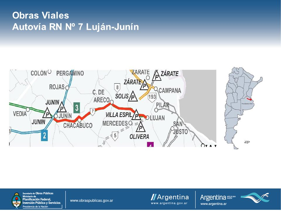 Autovía RN Nº 7 Luján-Junín