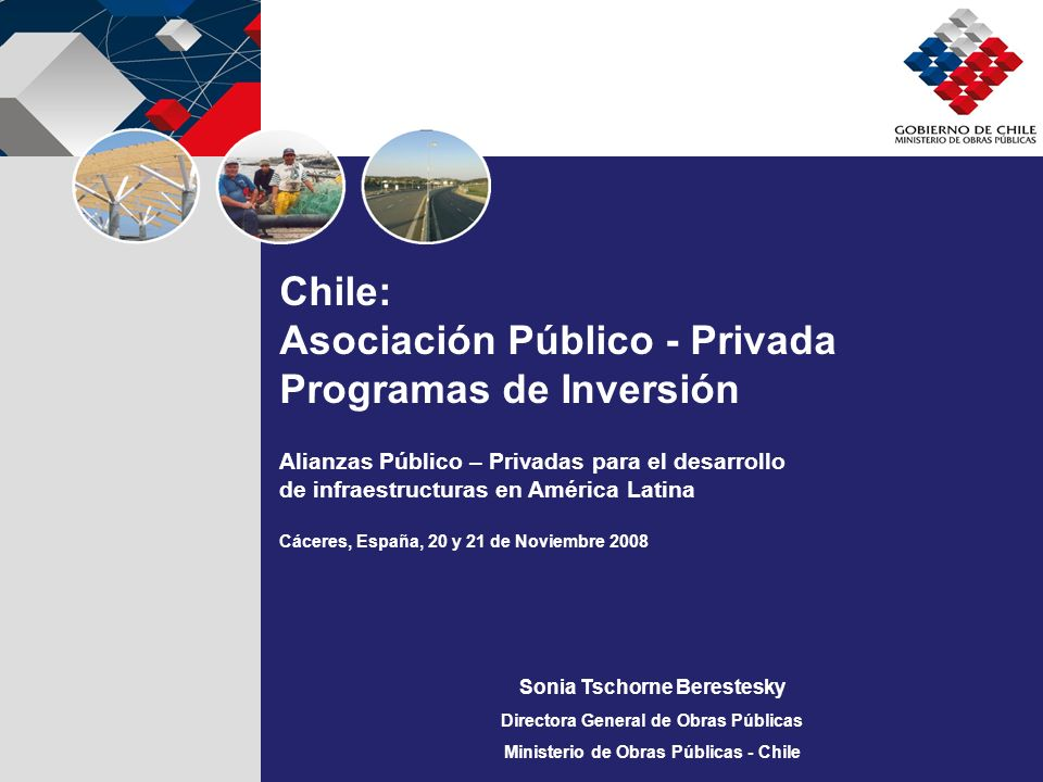 Asociación Público - Privada Programas de Inversión
