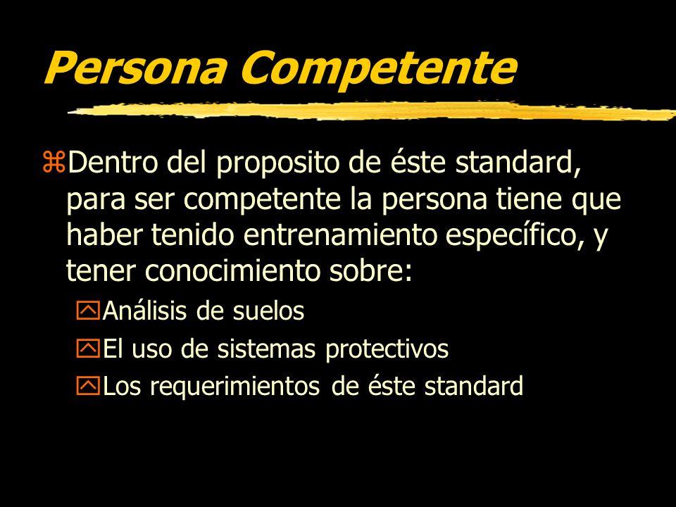 Persona Competente