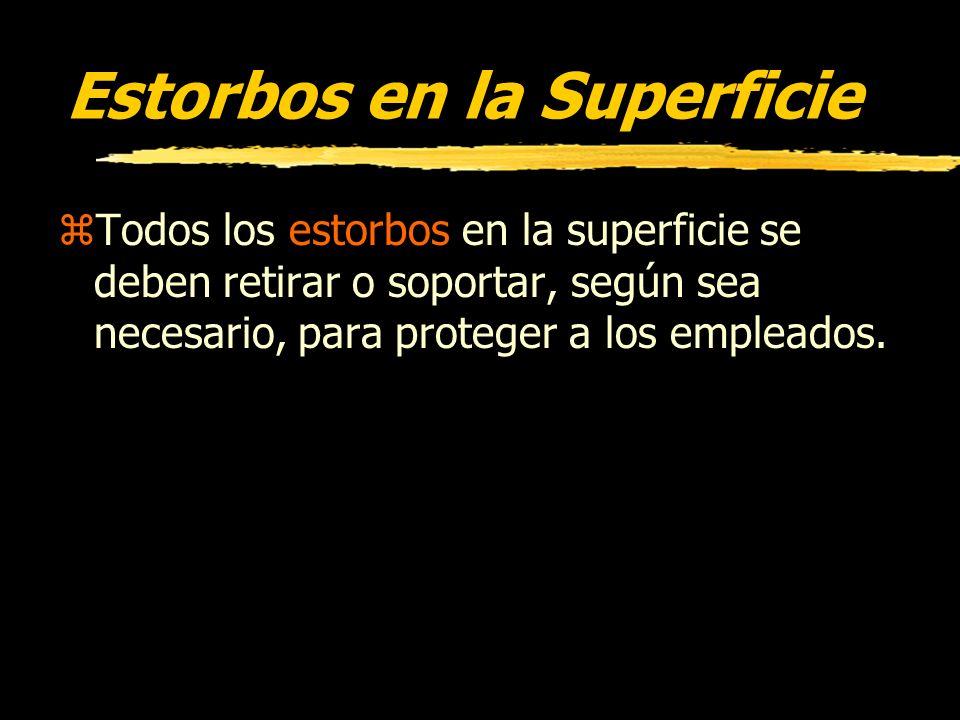 Estorbos en la Superficie
