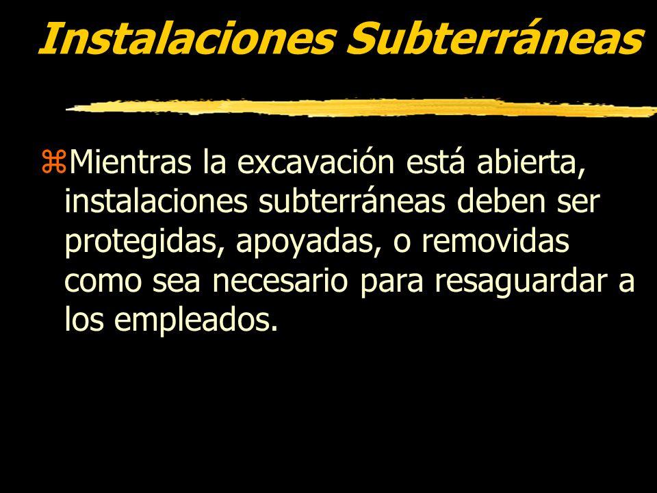 Instalaciones Subterráneas