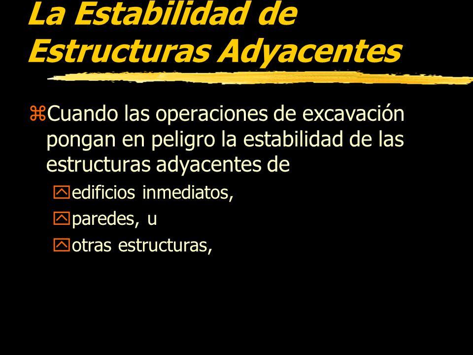 La Estabilidad de Estructuras Adyacentes