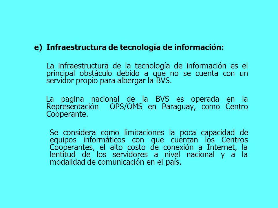 Infraestructura de tecnología de información: