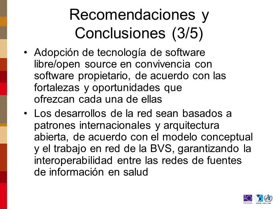 Recomendaciones y Conclusiones (3/5)