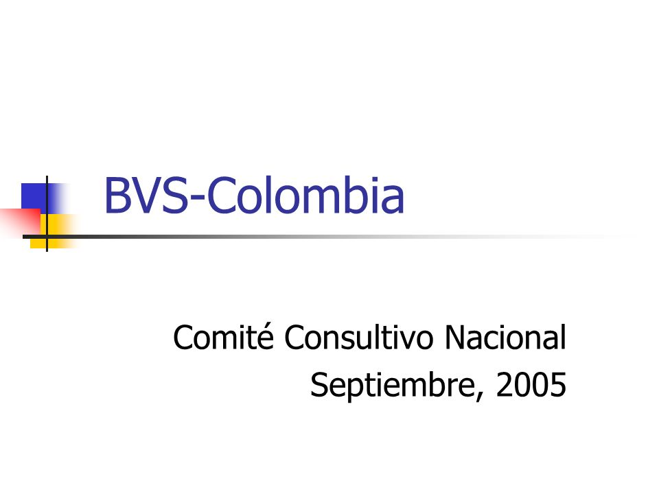 Comité Consultivo Nacional Septiembre, 2005