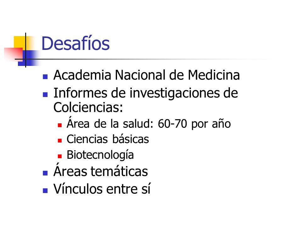 Desafíos Academia Nacional de Medicina