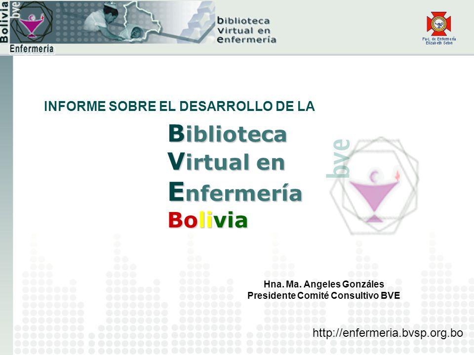 Biblioteca Virtual en Enfermería Bolivia