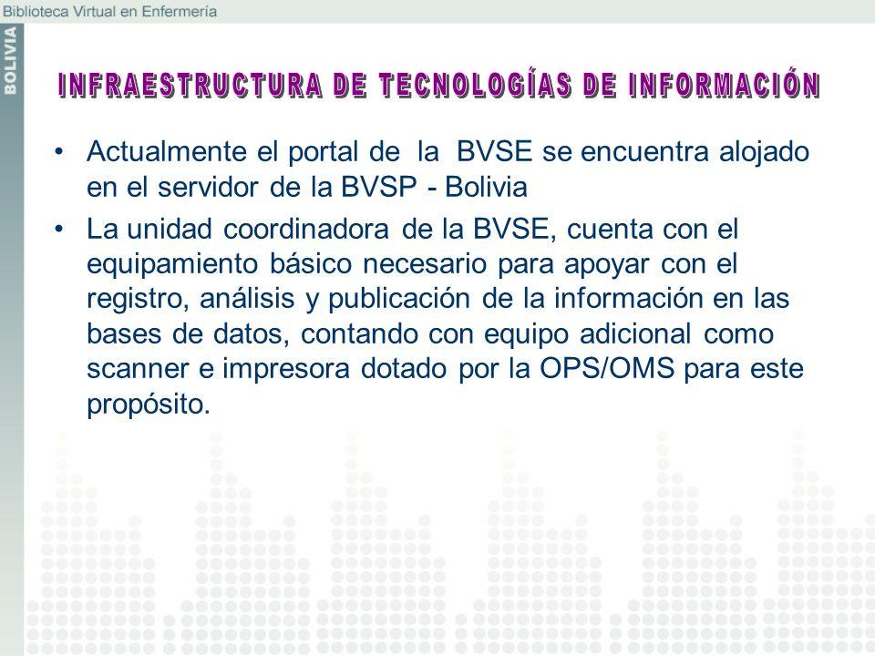 INFRAESTRUCTURA DE TECNOLOGÍAS DE INFORMACIÓN