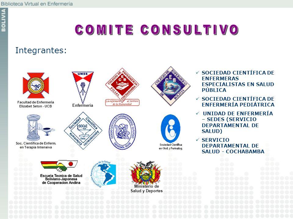 COMITE CONSULTIVO Integrantes: