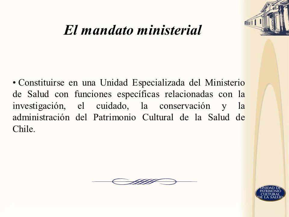 El mandato ministerial