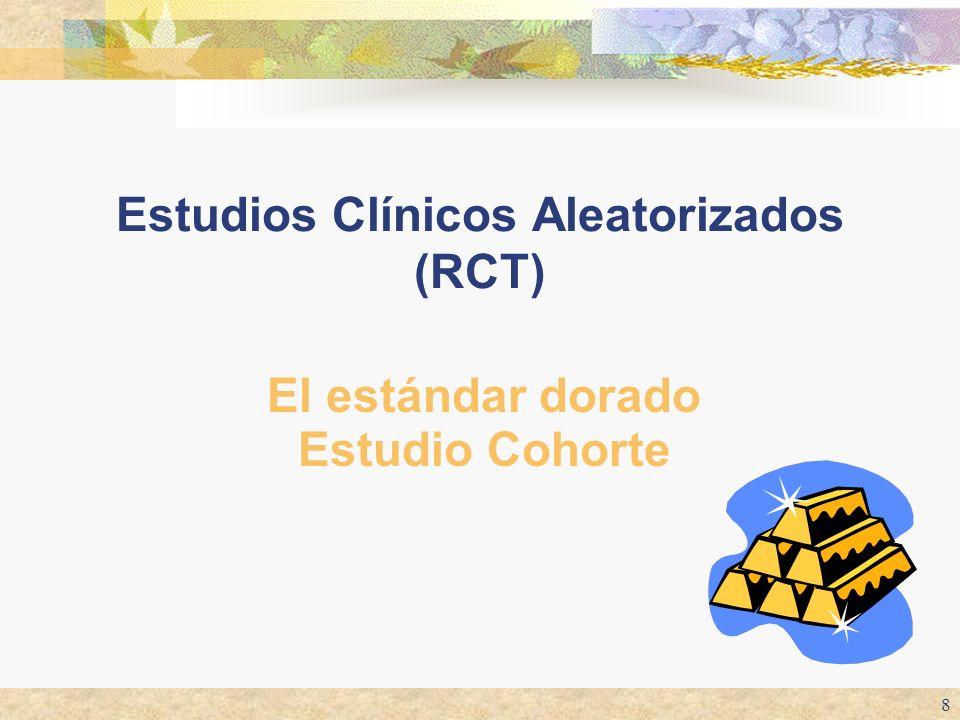 Estudios Clínicos Aleatorizados (RCT)