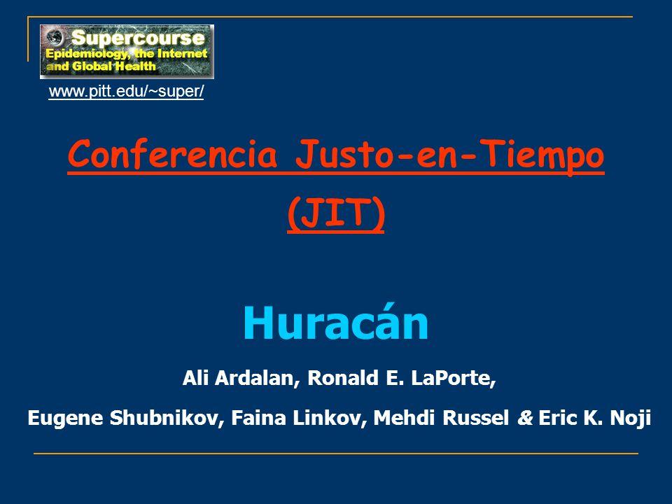 Conferencia Justo-en-Tiempo (JIT)