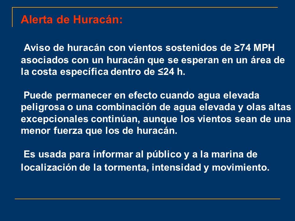 Alerta de Huracán: