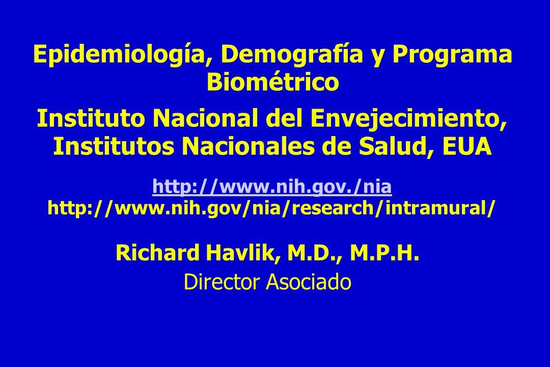 Epidemiología, Demografía y Programa Biométrico
