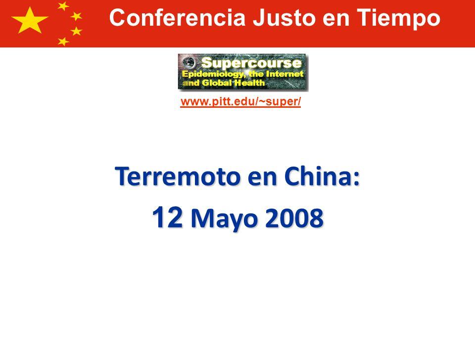 Terremoto en China: 12 Mayo 2008