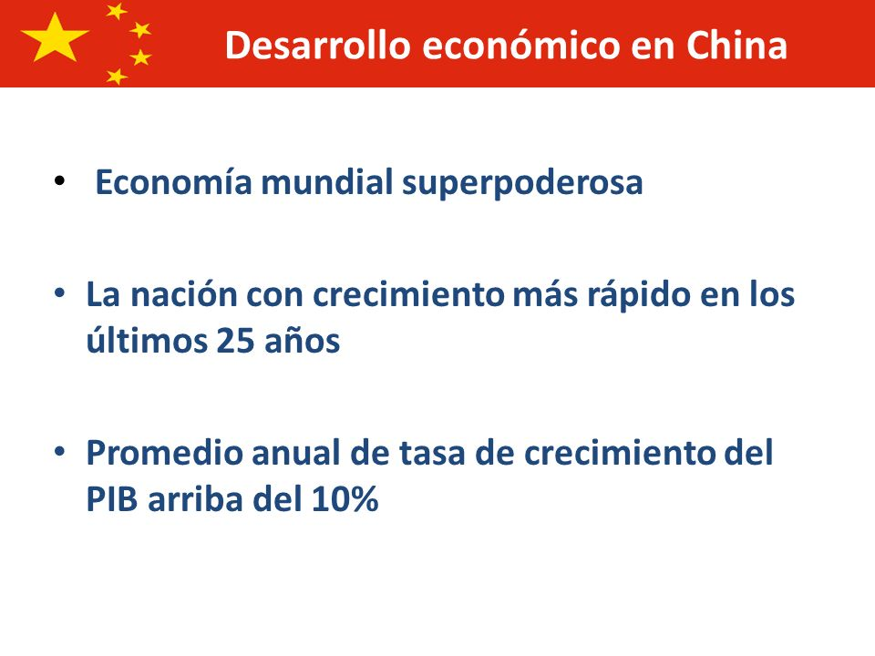 Desarrollo económico en China