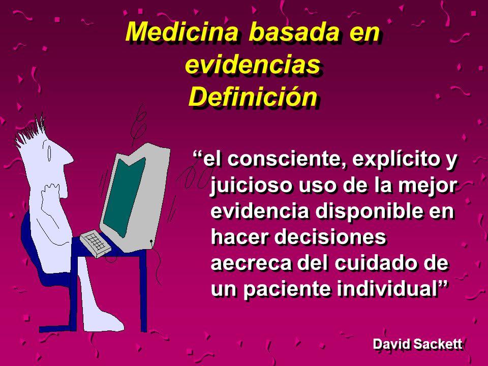 Medicina basada en evidencias Definición
