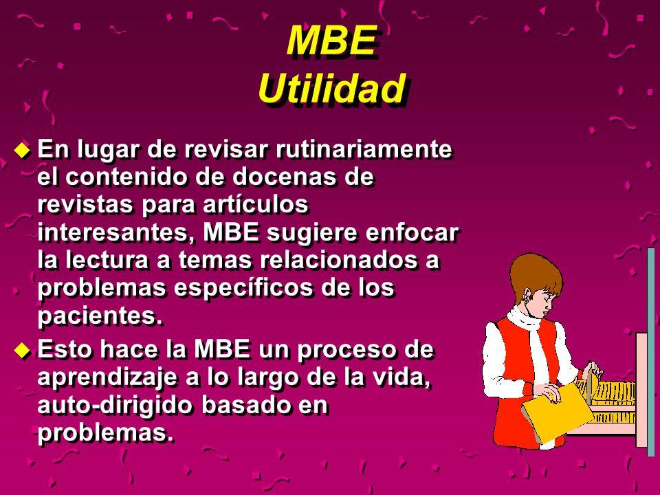 MBE Utilidad