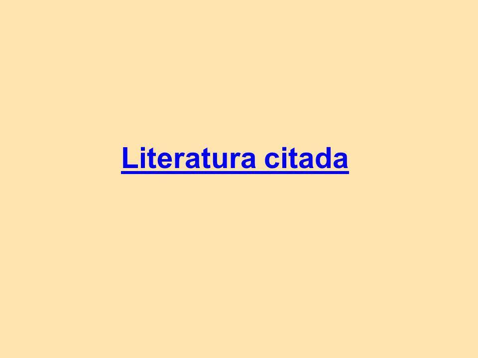 Literatura citada