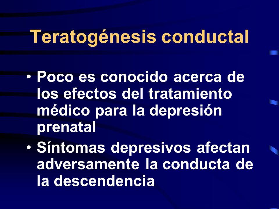 Teratogénesis conductal