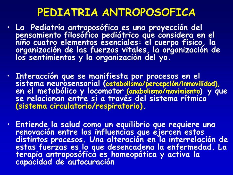 PEDIATRIA ANTROPOSOFICA