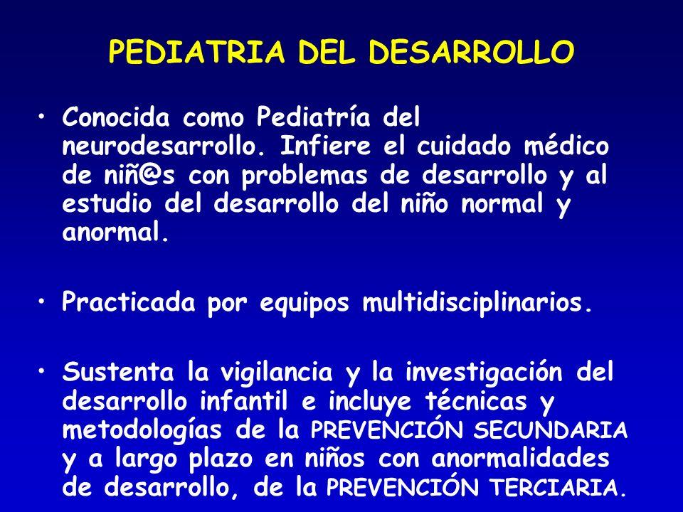 PEDIATRIA DEL DESARROLLO
