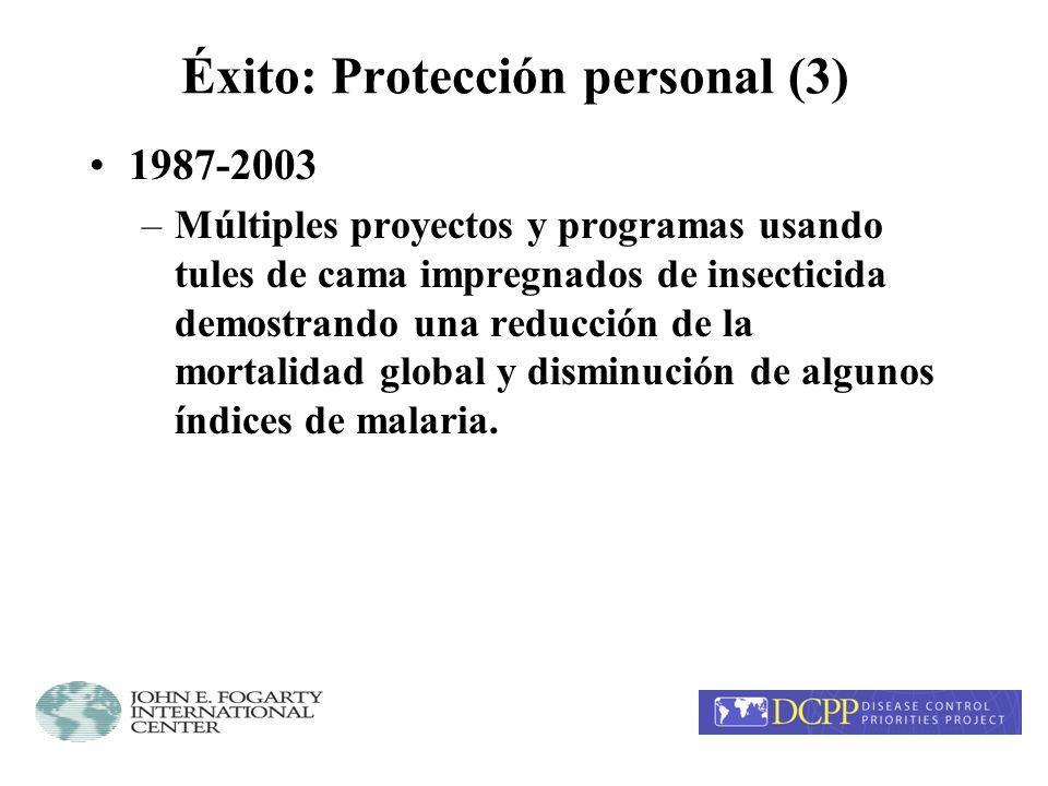Éxito: Protección personal (3)