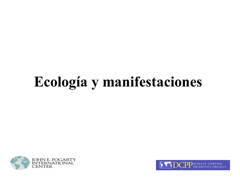 Ecología y manifestaciones