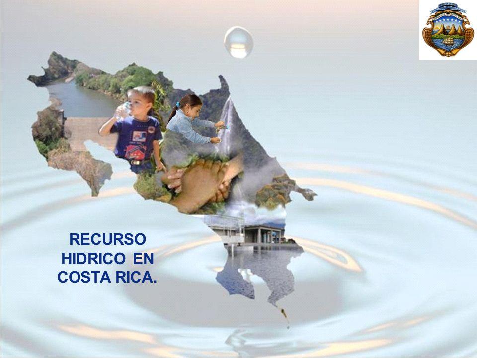 RECURSO HIDRICO EN COSTA RICA.