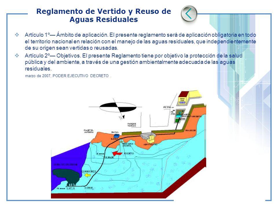 Reglamento de Vertido y Reuso de Aguas Residuales