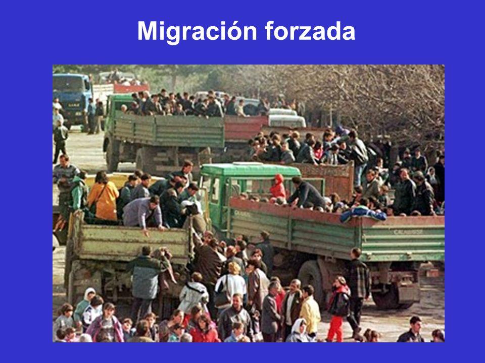 Migración forzada