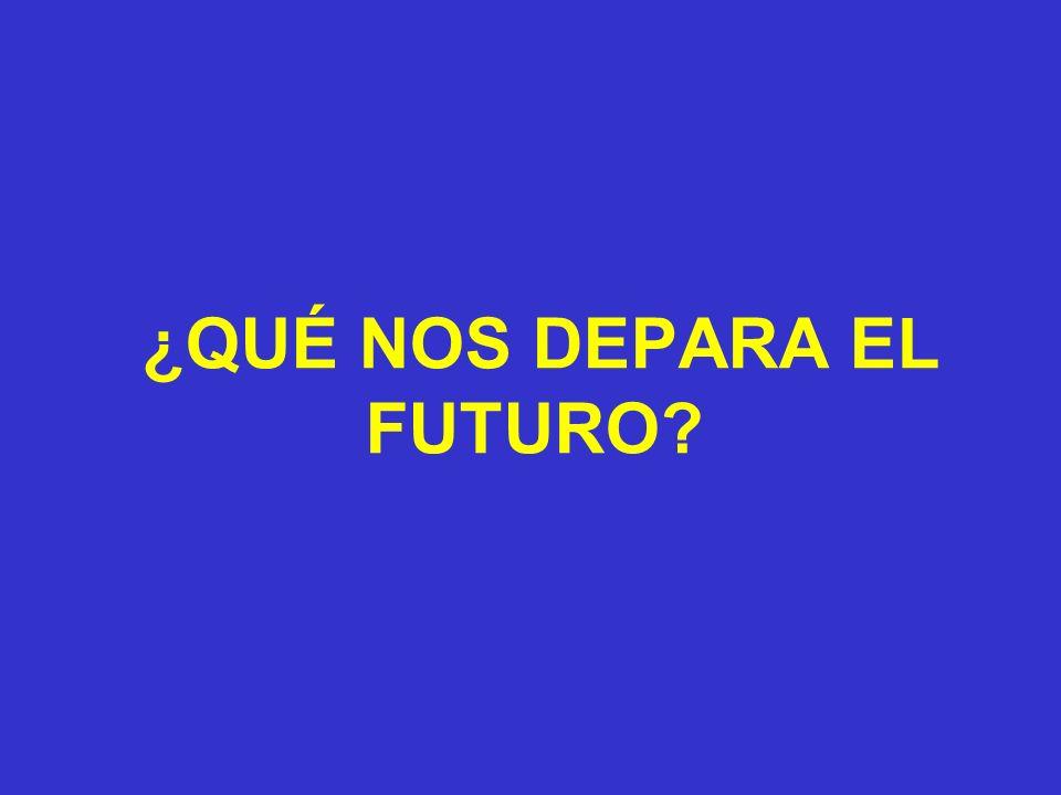 ¿QUÉ NOS DEPARA EL FUTURO