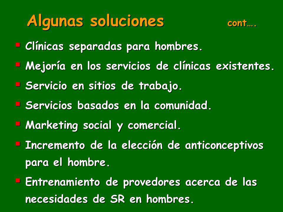 Algunas soluciones cont….