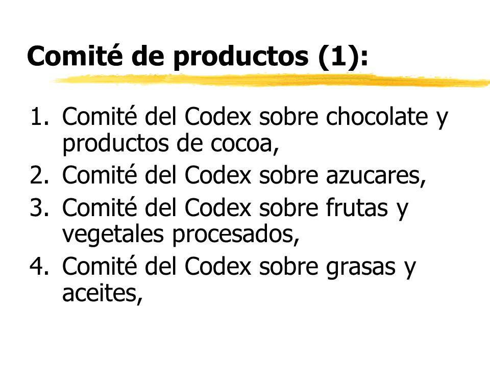 Comité de productos (1):